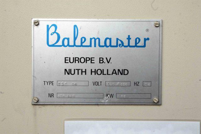 דחסן נייר BALEMASTER