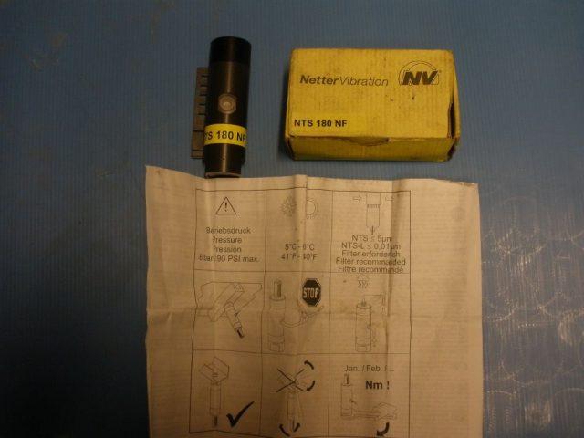 מרעד פנאומטי דופק NTS 180 NF
