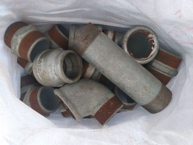אבזרי צנרת מגלוונים 1.5-2 צול